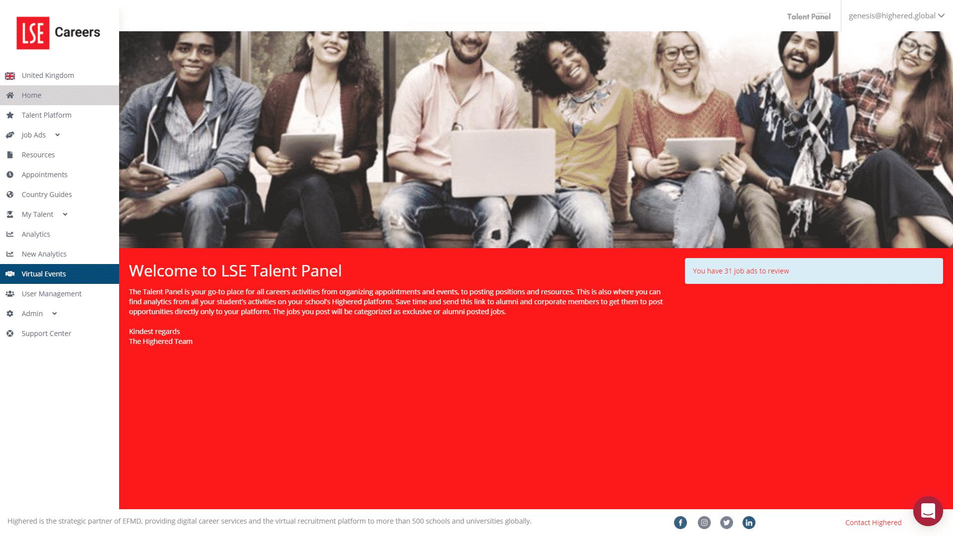 LSE Talent Panel
